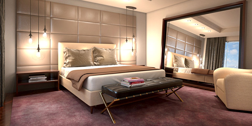 Kmp furniture modern furniture store - Contemporary modern bedroom sets ...